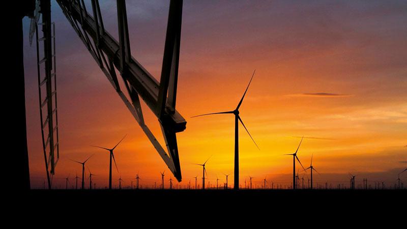 pro della energia eolica in italia